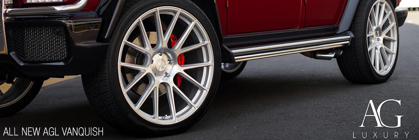 AG Luxury Ann new AGL Vanquish wheels